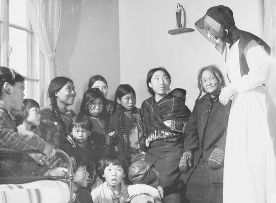 Inuit: christianity