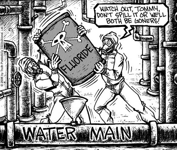Cartoon fluoride