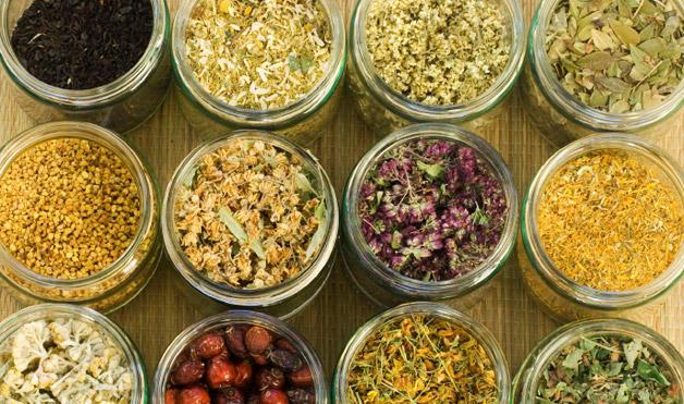 Natural healing herbs