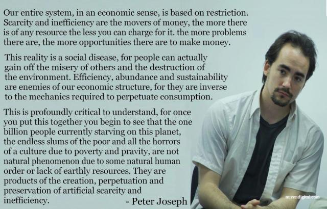 Peter Joseph - Zeitgeist movement