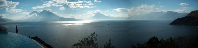 Atitlan Lake. The Labyrinth of Life