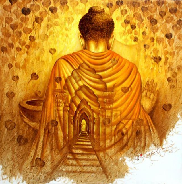 The Labyrinth of Life - Buddha - Stef Sifandos